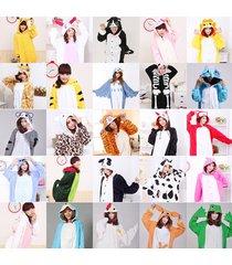 new unisex onesie adult animal onesies onsie kigurumi pyjamas sleepwear dress x