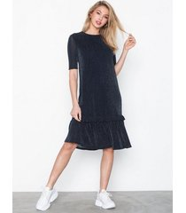 noisy may nmshimmy 2/4 sleeve below knee dre loose fit dresses