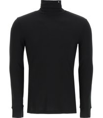 raf simons high neck jersey sweater
