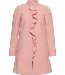 cappotto corto con ruches (rosa) - bodyflirt