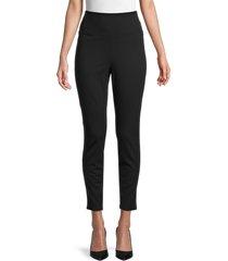 bagatelle women's high-waisted leggings - black - size xl