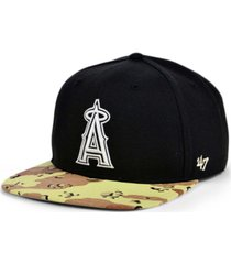 '47 brand anaheim angels operation camo snapback cap