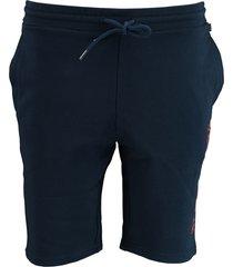 napapijri korte broek bermuda blauw np0a4e1n/bb6