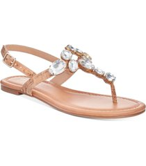thalia sodi jace jewel thong flat sandals, created for macy's women's shoes