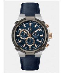zegarek gc z chronografem na skórzanym pasku