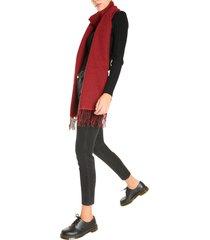 woolrich check design scarf