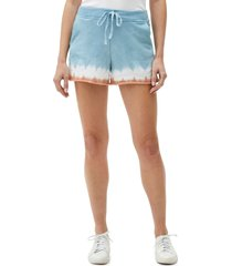 michael stars otto cutoff knit shorts, size large in earth combo at nordstrom