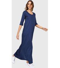 vestido azul chelsea market jazmin largo