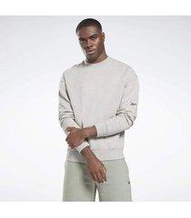 trui reebok sport dreamblend cotton crewneck sweatshirt