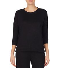 women's refinery29 double knit high/low pullover