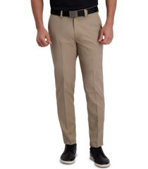 cool right performance flex slim fit flat front pant