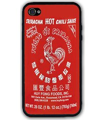 pho red sriracha hot chili sauce iphone case - rubber silicone iphone 5 case