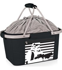 oniva by picnic time star wars stormtrooper metro basket collapsible cooler tote