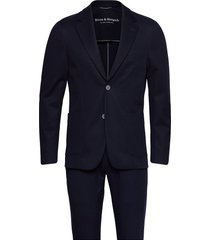 bs molise, suit set pak blauw bruun & stengade