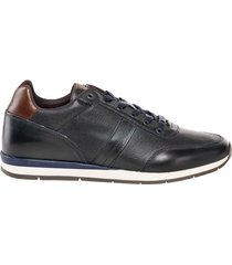 zapato casual lars azul bosi