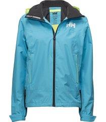 w hp fjord jacket zomerjas dunne jas blauw helly hansen