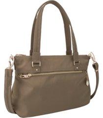 travelon anti-theft tailored satchel
