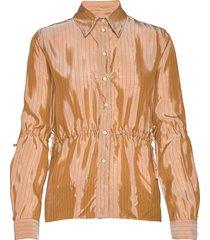 romeda blouse lange mouwen oranje tiger of sweden
