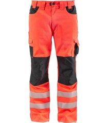 pantalon cargo hw dakota rojo fluor hardwork