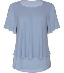 blouse lisca ensenada top met korte mouwen