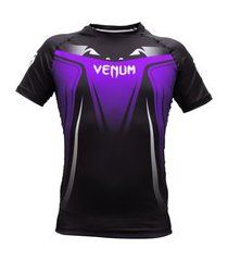 rash guard venum no gi 3.0 - manga curta - roxa .