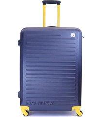 maleta tide beach azul amarillo 28 nautica