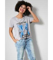 shirt angel of style lichtgrijs