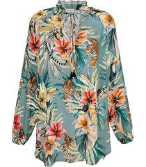 blouse alba moda indigo