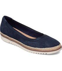 serena kellyn sandaletter expadrilles låga blå clarks