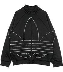 giacca tuta big trefoil outline track top