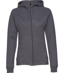 icon zip hood w hoodie trui grijs craft