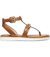 farrow leather thong sandals