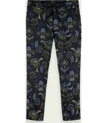scotch & soda fave – jacquard chino | mid rise fit