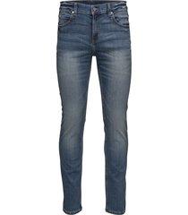 tight indigo head slimmade jeans blå cheap monday