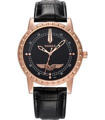 orologio da uomo in pelle di moda casual da uomo di lusso per uomo, orologio da polso militare per lui
