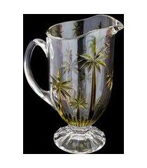 jarra de cristal wolff palm tree sprayed 1.5 litros