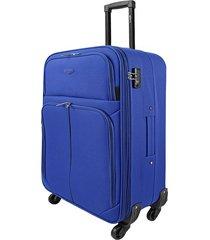 "maleta tipo cabina speed 21"" azul - explora"