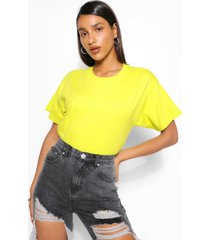 basic oversized t-shirt, lime