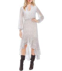 1.state x jaime shrayber printed high-low dress