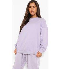basic oversized sweater, pale lilac