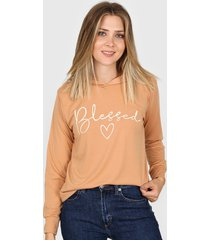 buzo camel destino collection blessed