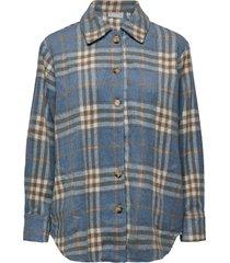 fxtejacket 1 shirt overshirts blauw fransa