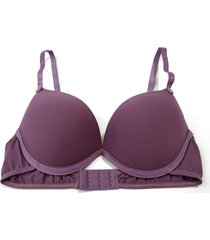 sutiã divance 3d turbo push up liso roxo