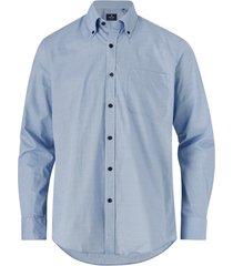 skjorta med button down-krage