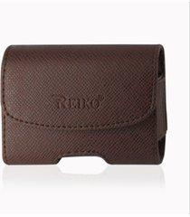 reiko horizontal pouch hp1023a utstarcom blitz brown 3.5x2.6x0.8 inches