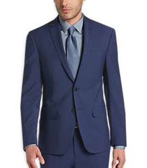 calvin klein x-fit infinite stretch blue extreme slim fit suit
