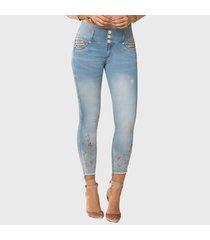 jeans push up costero azul claro tyt jeans