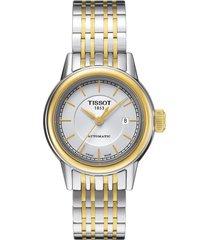 reloj tissot para mujer - carson  t085.207.22.011.00