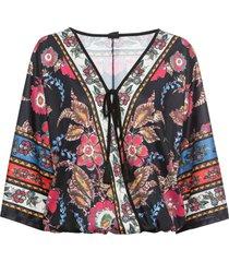 maglia in stile kimono (nero) - bodyflirt