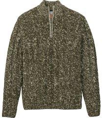 maglione con cerniera (verde) - john baner jeanswear